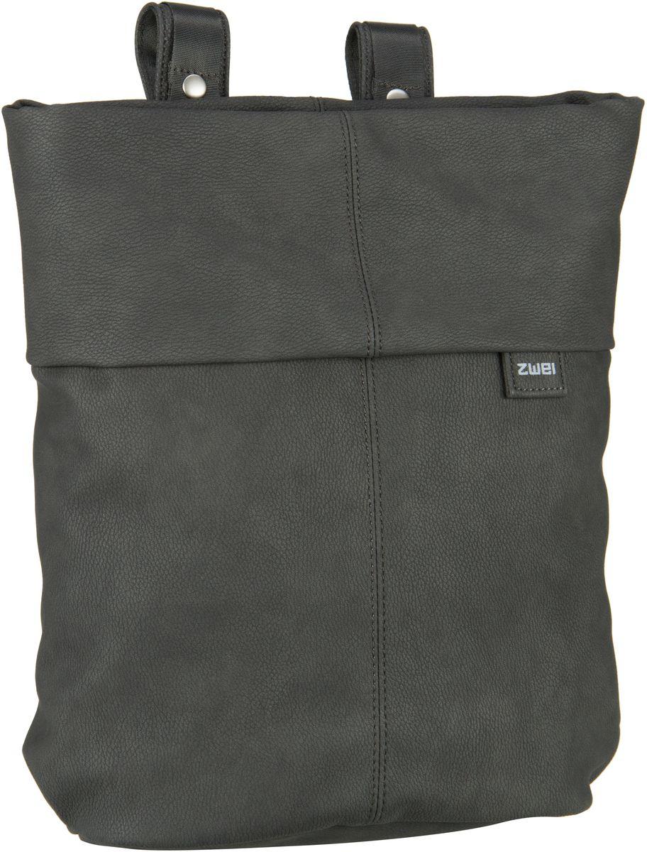 Rucksaecke für Frauen - zwei Laptoprucksack Mademoiselle MR12 Nubuk Stone (8 Liter)  - Onlineshop Taschenkaufhaus