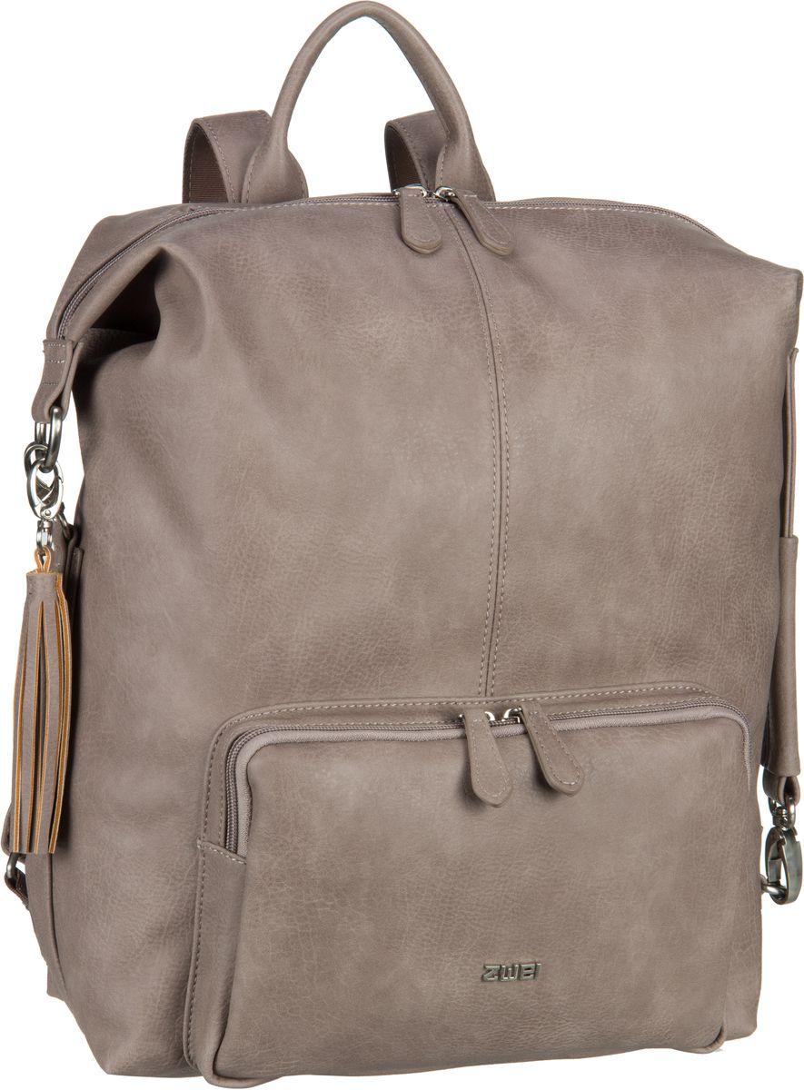 Rucksaecke für Frauen - zwei Rucksack Daypack Conny CYR20 Taupe (12 Liter)  - Onlineshop Taschenkaufhaus