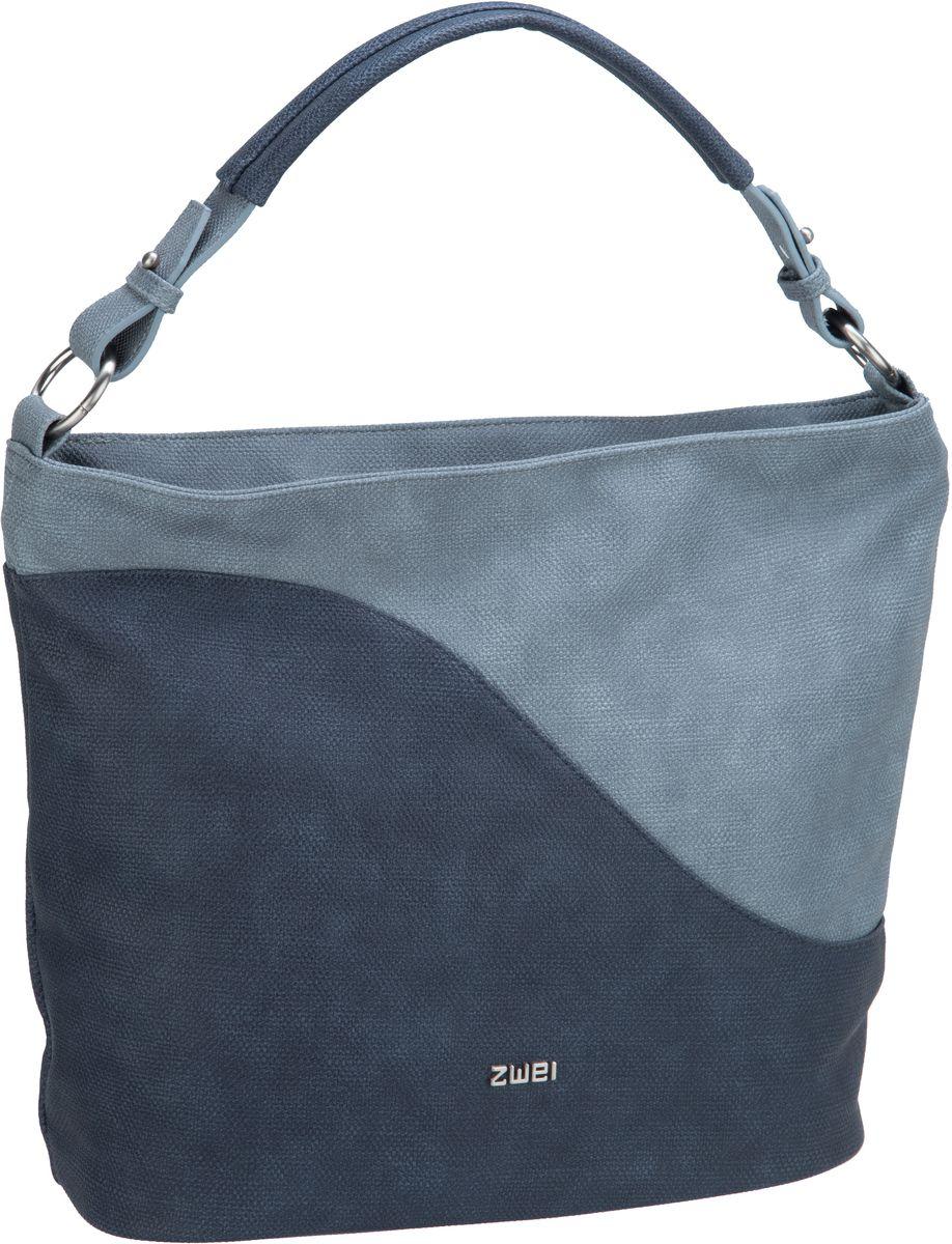 Handtasche Cherie CH12 Canvas/Blue (9 Liter)