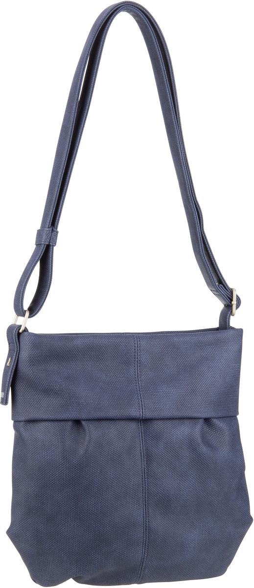 Handtaschen für Frauen - zwei Handtasche Mademoiselle M10 Canvas Canvas Blue (4 Liter)  - Onlineshop Taschenkaufhaus