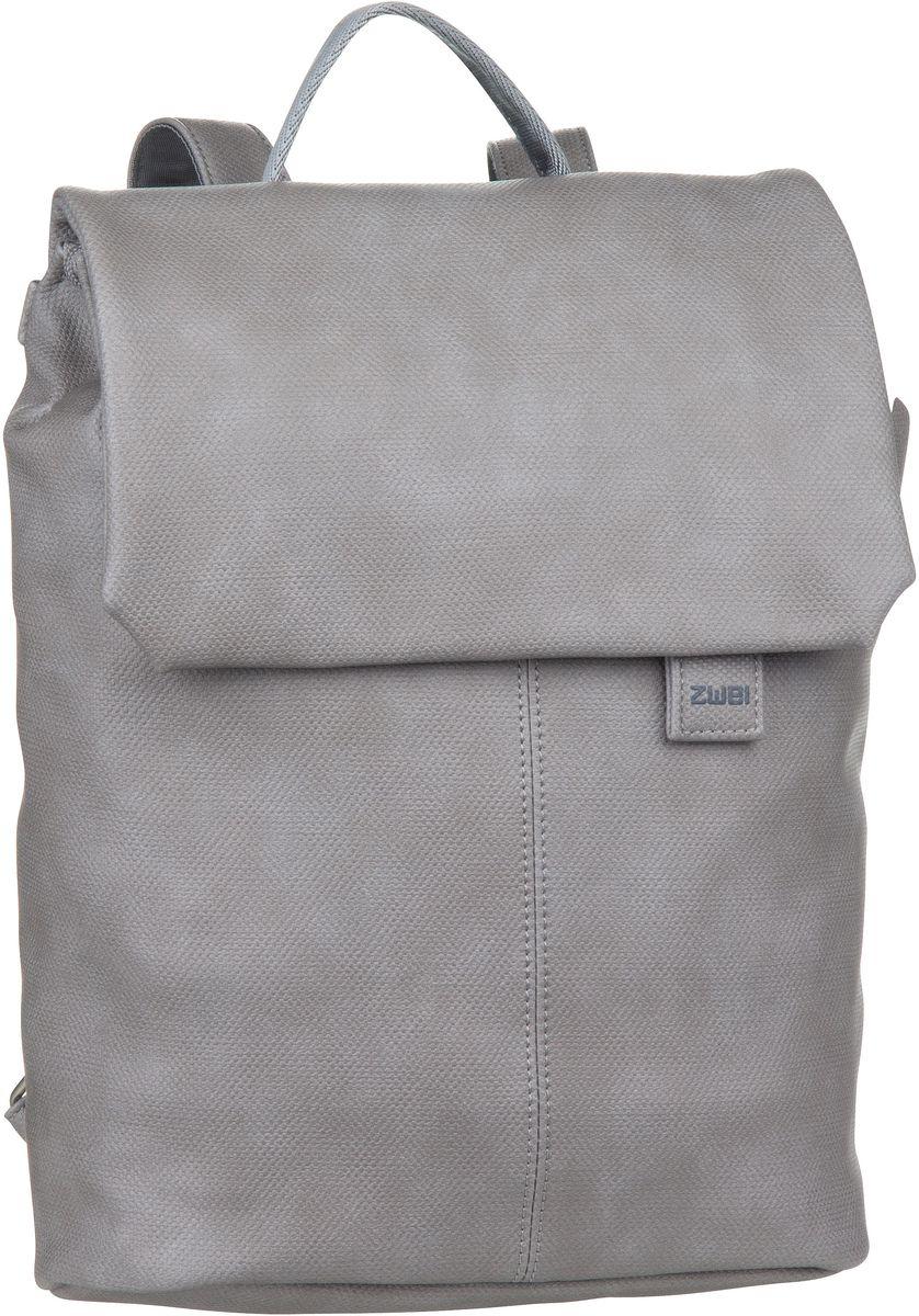Rucksaecke für Frauen - zwei Laptoprucksack Mademoiselle MR13 Canvas Canvas Grey (7 Liter)  - Onlineshop Taschenkaufhaus