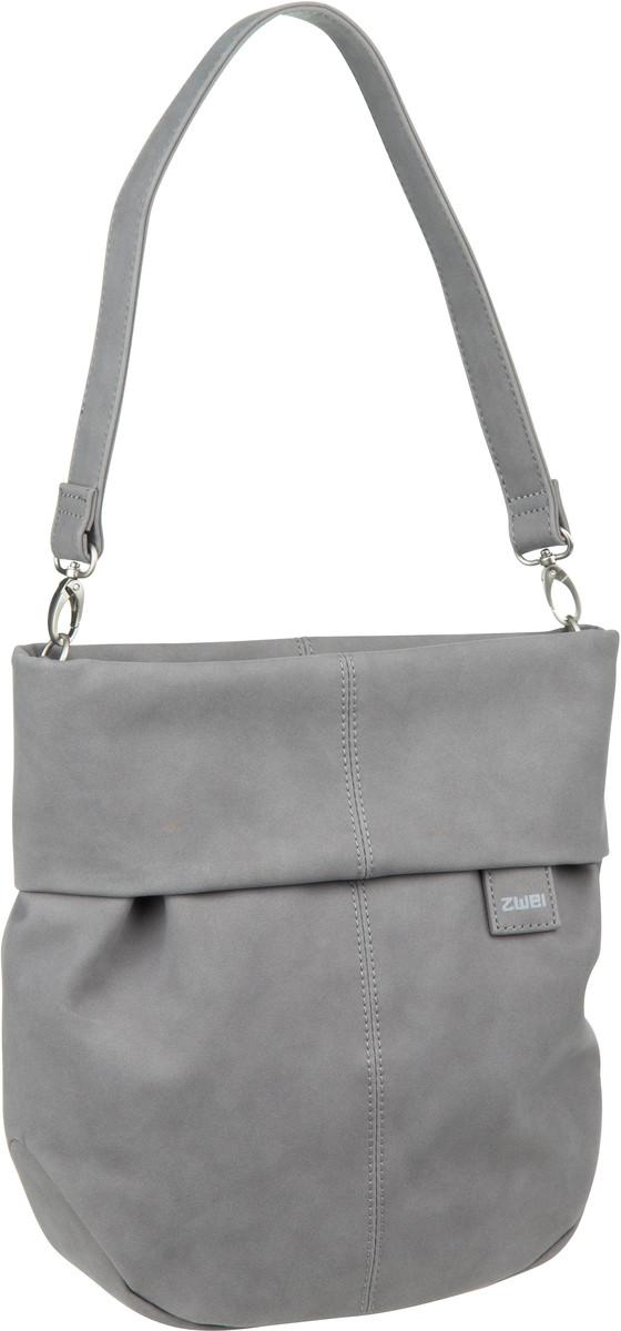 Handtasche Mademoiselle M100 Velours/Grey (5 Liter)