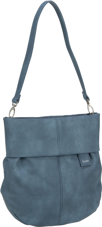 Handtasche Mademoiselle M100 Nubuk/Sea (5 Liter)