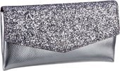 Guess Ever After Clutch: Glitzer, Glamour, Guess: Festliche Clutch vom Trendlabel aus Kalifornien. Mit 6 Kartenfächern und separatem Schultergurt. Schließt mit Überschlag und Magnet-Druckknopf. Maße: 24x13x3 cm.