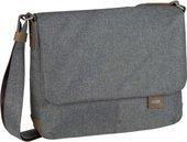 Zwei Mademoiselle.m Rucksack Rucksack Laptoptasche Tasche Nubuk-stone Grau Neu Feines Handwerk Aktenkoffer & -taschen