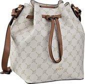 Modische Bucket Bag mit Kornblumen-Flair: Die elegante Handtasche von Joop verfügt über 2 Innenfächer, ein rückseitiges Reißverschlussfach und 4 Standfüße am verstärkten Taschenboden. Maße: 19x26x18 cm.