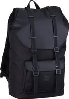 Großer Laptoprucksack von Herschel im fabelhaft löchrigem Aspect-Design mit flauschigem Laptopfach für Laptops bis 35x28x3,5 cm. Volumen: 25 Liter.