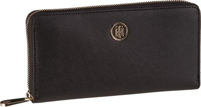Tommy Hilfiger Honey Large ZA Wallet 4281 - Black
