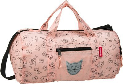 reisenthel kids mini maxi dufflebag S - Cats and Dogs Rose