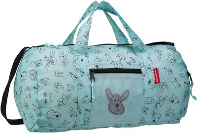 reisenthel kids mini maxi dufflebag S - Cats and Dogs Mint