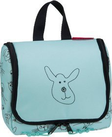 reisenthel kids toiletbag S - Cats and Dogs Mint