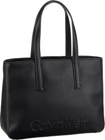 Calvin Klein Edge Medium Shopper - Black