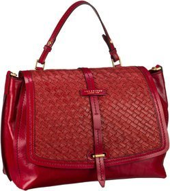 The Bridge Salinger Handtasche 1327 - Rosso (innen: Gelb)