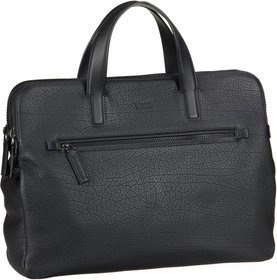 HUGO Victorian Double Document Case 386057 - Black