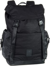 Strellson Swiss Cross Backpack LVZ - Black