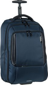"Samsonite Cityscape Tech Backpack Wheeled 17.3"" - Space Blue"