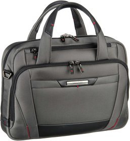 "Samsonite Pro-DLX 5 Laptop Bailhandle 14.1"" - Magnetic Grey"
