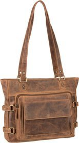 Greenburry Vintage 1635 Shopper - Sattelbraun