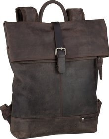 Greenburry Vintage Revival 1945 Laptop Backpack - Tabacco