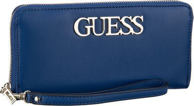 Guess Felix SLG Large Zip Around - Blue