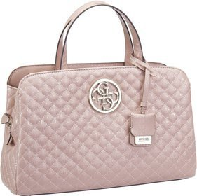 Guess Gioia Girlfriend Satchel - Rose