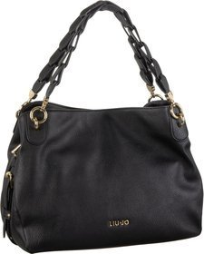 Liu Jo Barona Shoulder Bag M - Nero