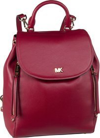 Michael Kors Evie Medium Backpack - Maroon