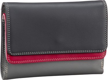 Mywalit Double Flap Purse Wallet - Storm