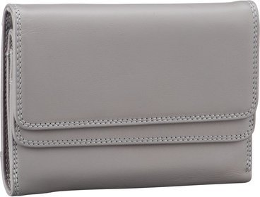 Mywalit Double Flap Purse/Wallet RFID - Grey