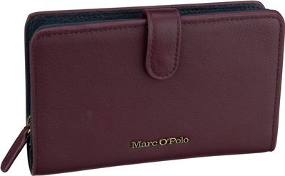 Marc O'Polo Ulla Combi Wallet M - Burgundy Red