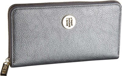 Tommy Hilfiger TH Core Large ZA Wallet 6168 - Pewter