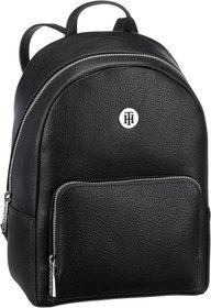 Tommy Hilfiger TH Core Mini Backpack 6111 - Black (innen: Silber)