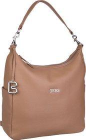 Bree Handtasche Nola 6 Tan (innen: Grau)