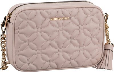 Michael Kors Ginny Medium Camera Bag Flora Quilted - Soft Pink