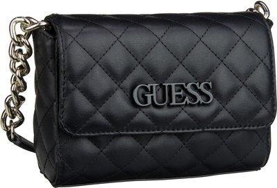 Guess Handtasche Elliana Mini Crossbody Flap Black