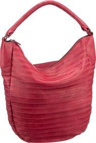 Fredsbruder Handtasche Gürteltier S Flamingo Red