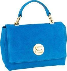 Coccinelle Handtasche Liya Suede 5840 Signal Blue