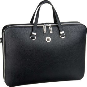 Tommy Hilfiger TH Core Computer Bag 6424 - Black/Warm Sand