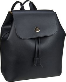 Tommy Hilfiger Charming Tommy Backpack 6457 - Black/Warm Sand (innen: Beige)