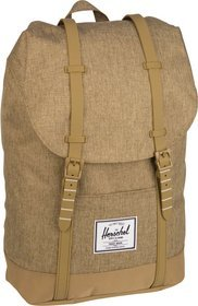 Herschel Laptoprucksack Retreat Kelp Crosshatch/Kelp (19.5 Liter)