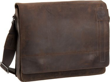 Strellson Richmond Messenger LH - Dark Brown