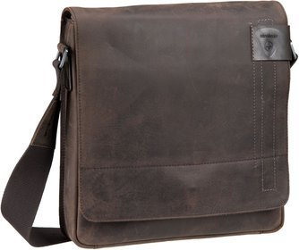 Strellson Richmond Messenger MV - Dark Brown
