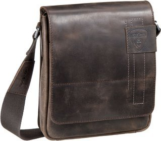 Strellson Richmond Messenger SV - Dark Brown