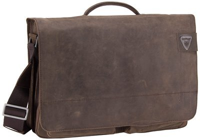 Strellson Aktentasche Richmond Briefbag XL Dark Brown