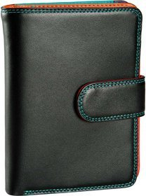 Mywalit Medium 10 C/C Wallet w/Zip Purse - Black Pace