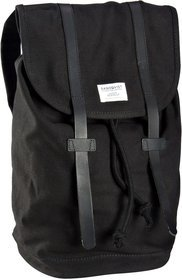 Sandqvist Stig Canvas Backpack - Black