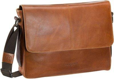Bugatti Notebooktasche / Tablet Grinta Messenger Bag Medium Cognac