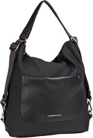 Mandarina Duck Camden Small Hobo - Black (innen: Orange)