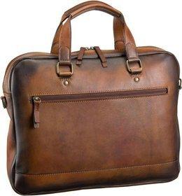 Jost Notebooktasche / Tablet Randers 2481 Kurzgrifftasche Cognac