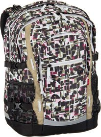 4YOU Jampac Schulrucksack - Geometric Sheen